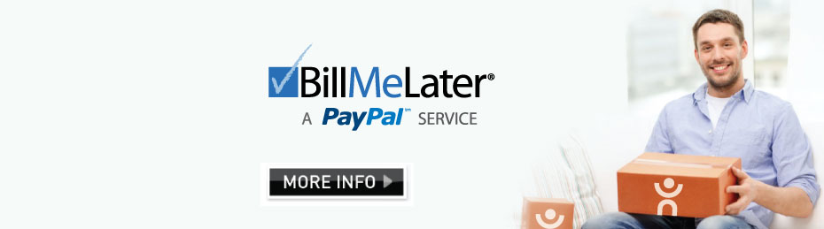 Shop Now Pay Later - BillMeLater - A PayPal Service